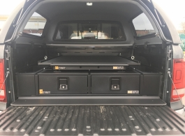 226MM Twin Drawers & Infill pods & Gearslide top & Tailgate Gap Flap