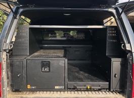 Split system | 400MM  Single Drawer & Slide & Front Locking Pods &  Racking & Roof Rack