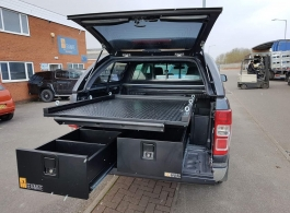 226MM Twin Drawers & Infill Pods & Gearslide Top