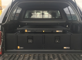 300MM Twin Drawers & Infill Pods & Gearslide Top & Tailgate Gap Flap