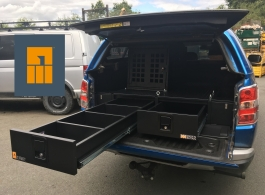 226MM Twin Drawers & Infill Pods & Tailgate Gap Flap & Dog Box