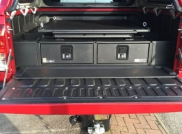 Gearmate 226MM Twin Drawers & Infill Pods & Tailgate Gap Flap & Gearslide top
