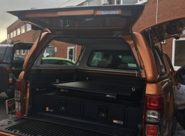 Gearmate Gull Wing Hardtop & 226MM Twin Drawers & Infill Pods & Tailgate Gap Flap & Gearslide top