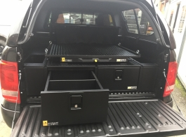 300MM Twin Drawers & Infill Pods & Gearslide top