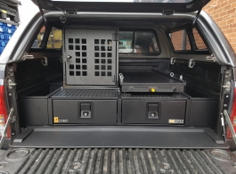 226 MM Twin Drawers & Infill Pods & Tailgate Gap Flap & Narrow Slide & Dog Box