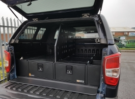300MM Twin Drawers & Infill Pods & Tailgate Gap Flap & Central Divider