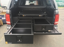 300MM Twin Drawers & Infill Pods & Tailgate Gap Flap & 2 Narrow Slides