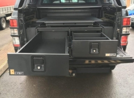 226MM Twin Drawers & Infill Pods & Tailgate Gap Flap & Gearslide top