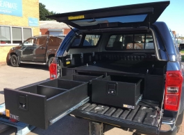 300MM Twin Drawers & Infill Pods & Tailgate Gap Flap