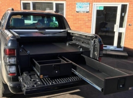 226MM Twin Drawers & Infill Pods & Tailgate Gap Flap