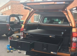 Gull Wing Hardtop & 226MM Twin Drawers & Infill Pods & Tailgate Gap Flap & Gearslide top