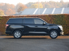 SsangYong Musso with Force Pro+ Hardtop