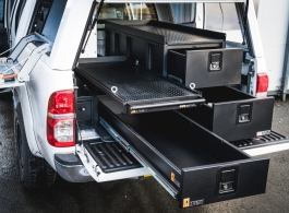 Single Drawer & Double Drawer & Slide &  Front Locking Pods & Tailgate Gap flap