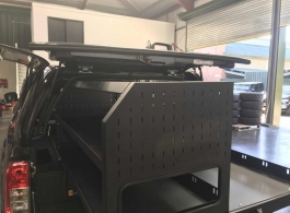 Gearmate Gull Wing Hardtop & 226MM Twin Drawers & Gearslide top & Infill Pods & Tailgate Gap Flap & Racking