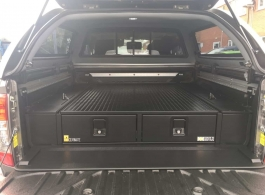 226MM Twin Drawer & Infill Pods & Tailgate Gap Flap