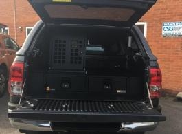 Gearmate 226MM Twin Drawers & Infill Pods & Tailgate Gap Flap & Dog box &  Bespoke Foam Insert