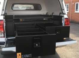 Gearmate 226MM Twin Drawers & Infill Pods & Gearslide top