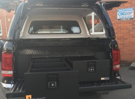 Gearmate Gull Wing Hardtop & 300MM Twin Drawer & Infill Pods & Tailgate Gap Flap