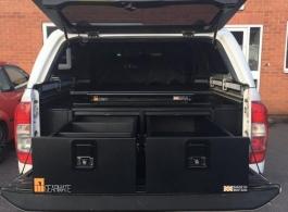 Gearmate 300MM Twin Drawers & Infill Pods & Gearslide top & Tailgate Gap Flap & Hammock