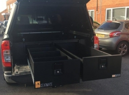 Gearmate 300MM Twin Drawers & Infill Pods & Tailgate Gap Flap