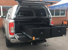 Gearmate Gull Wing Hardtop & 226MM Twin Drawers & Infill Pods
