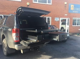 Gearmate 226MM Twin Drawers & Infill Pods & Tailgate Gap Flap