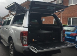 Gearmate Gull Wing Hardtop & 300MM Twin Drawers & Infill Pods