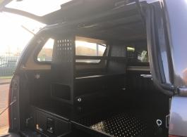 Volkswagen Amarok | 226MM Twin Drawer & Front Locking Pods & Racking