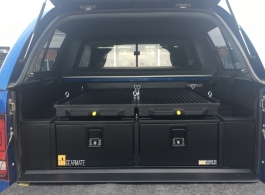 300MM Twin Drawer & Infill Pods & Tailgate Gap Flap & 2 Narrow Slides
