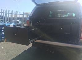 300MM Twin Drawer & Top Locking Pods & Tailgate Gap Flap