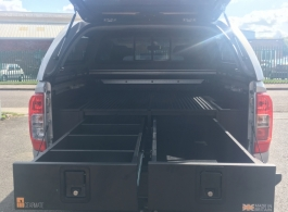 226MM Twin Drawers & Infill Pods &Tailgate Gap Flap
