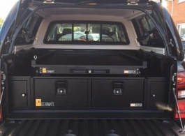 300MM Twin Drawer & Infill Pods & Gearslide Top