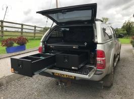 300MM Twin Drawer & Gearslide Top & Hammock