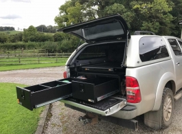 300MM Twin Drawer & Gearslide Top & Hammock