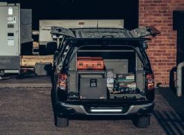 Split System | Half Drawer & Half Slide & Front Locking Pods & Rack & Roof Rack
