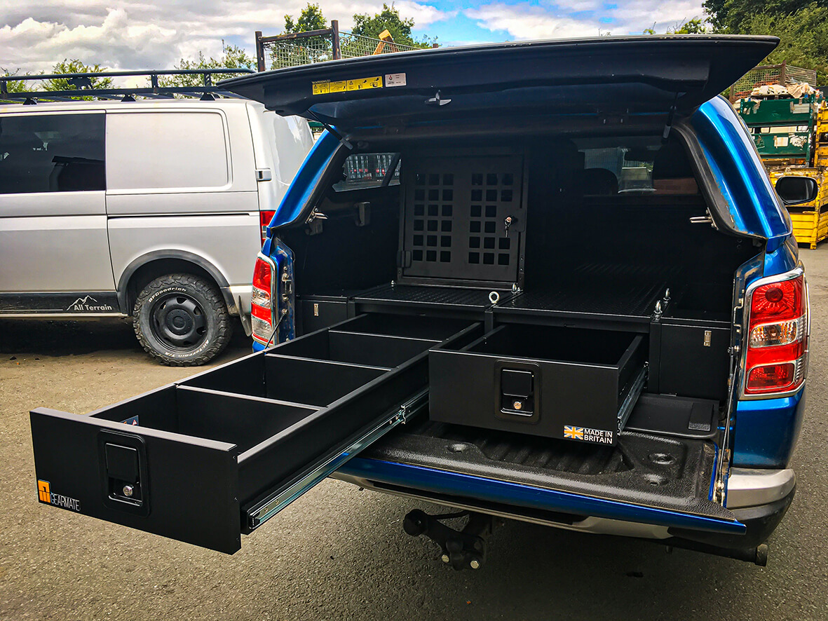 Mitsubishi L200 Drawer system