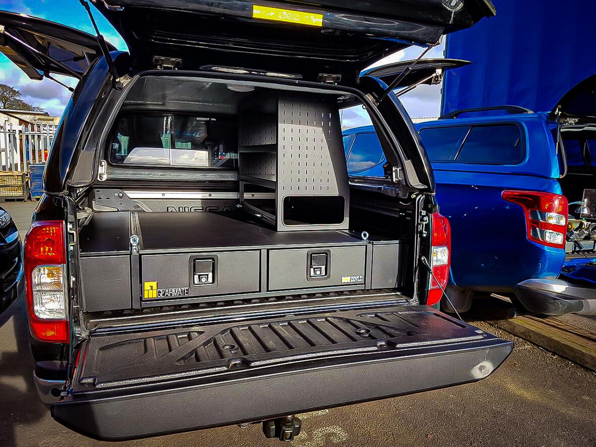 Nissan Navara Drawer System