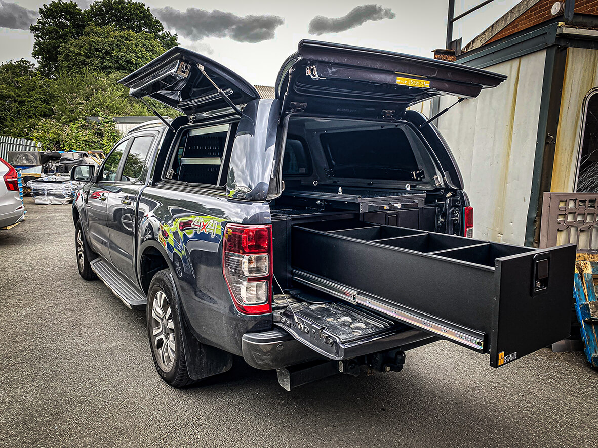 Ford Ranger Drawer System