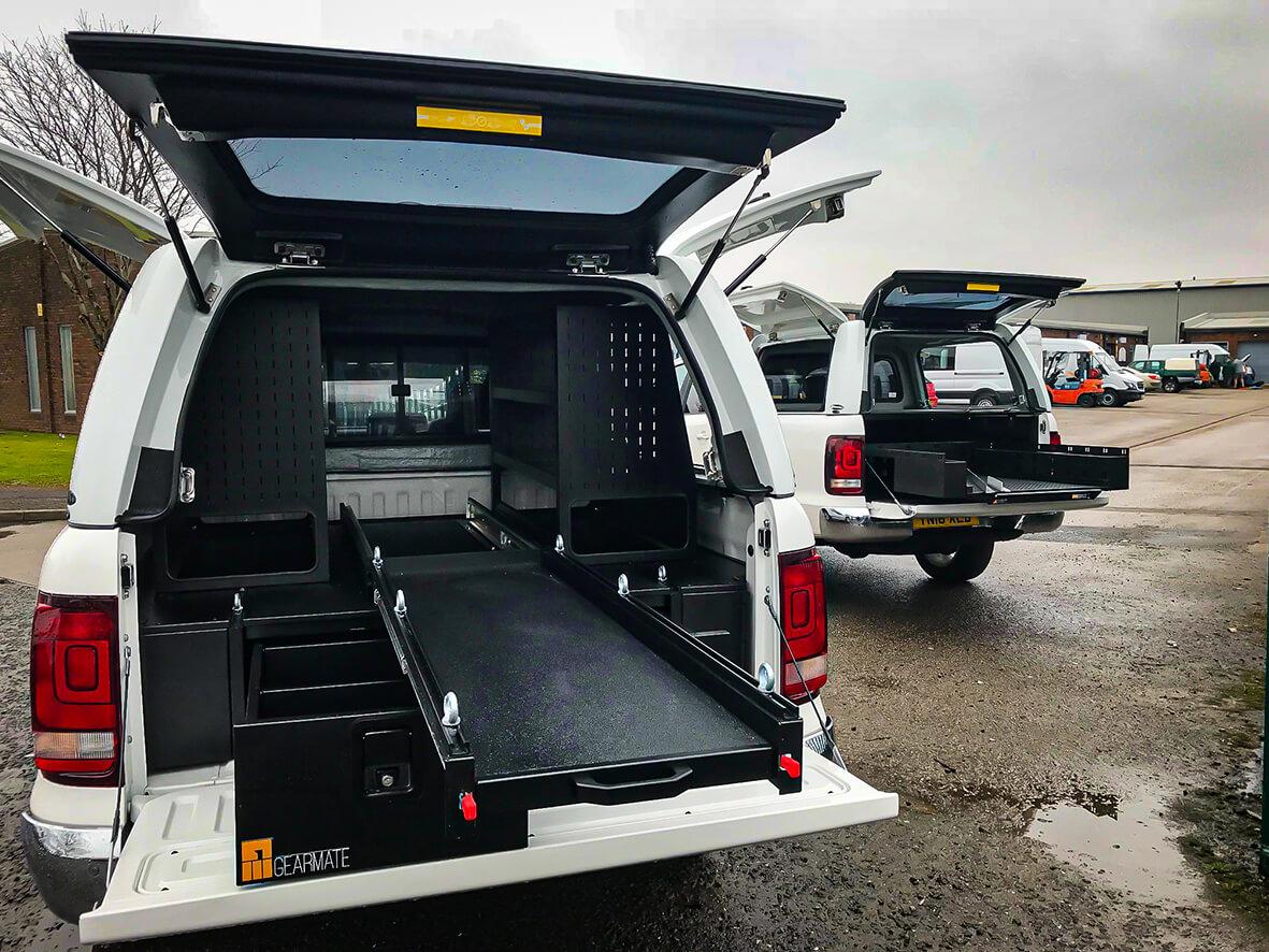 VW Amarok Drawer System