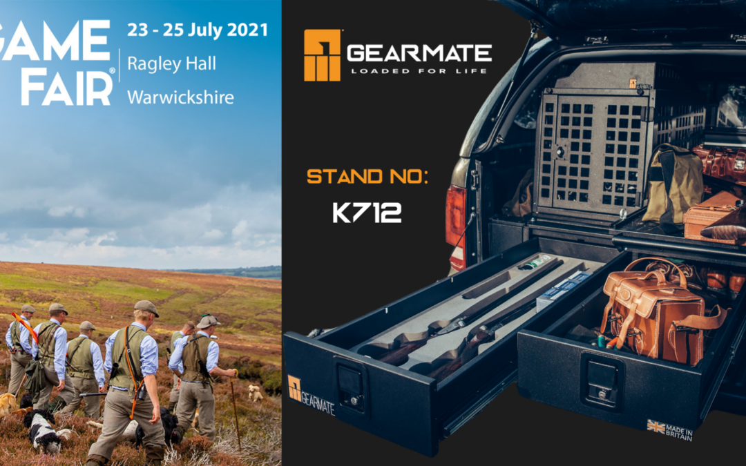 Gearmate are Exhibiting at The Game Fair 2021