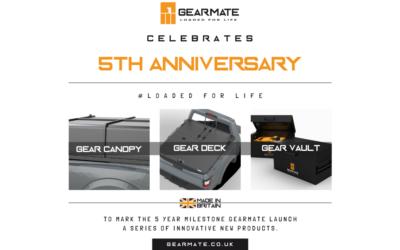 Gearmate celebrates 5th anniversary…