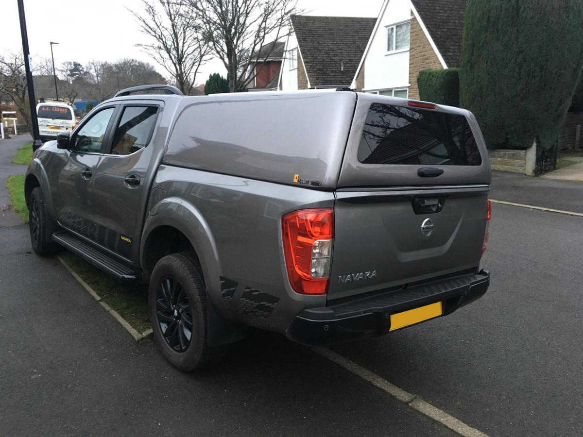 Nissan Navara | 500MM Twin Drawers & Front Locking Pods & Closed Sided Hardtop