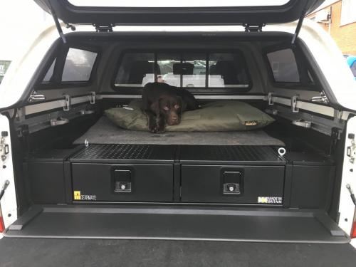 Nissan Navara | 226MM Twin Drawers & Infill Pods & Gearslide top