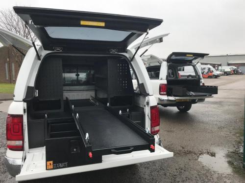 Volkswagen Amarok | 300MM Twin Drawer, Infill Pods, Central Slide, Racking & Gearslide , Wheel Arch Surround