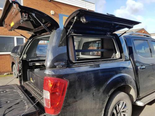 Nissan Navara | 226MM Twin Drawers & Infill pods & Racking