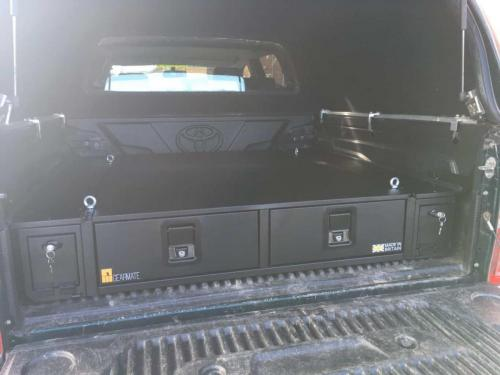 Toyota Hilux | 226MM Twin Drawer & Infill Pods