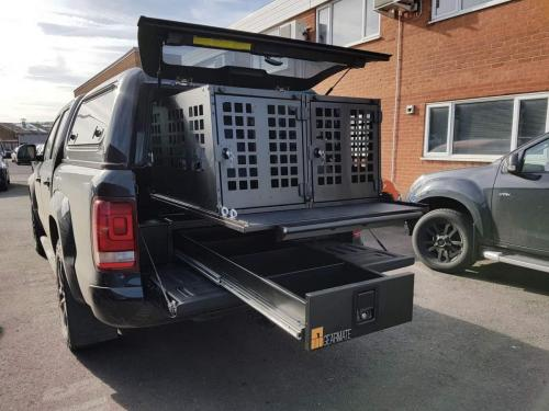 Volkswagen Amarok | 226MM Twin Drawers & Infill pods & Gearslide top & 2 Dog boxes
