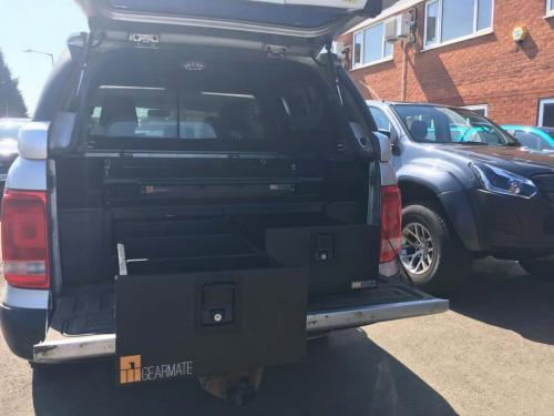 Volkswagen Amarok | 300MM Twin Drawers & Infill pods & Gearslide top