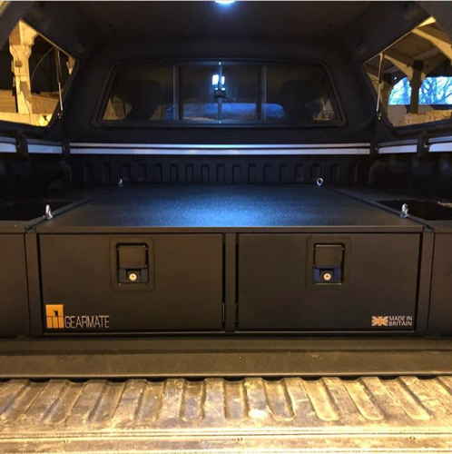 Volkswagen Amarok | Gearmate 226MM Twin Drawers & Infill Pods & Tailgate Gap Flap