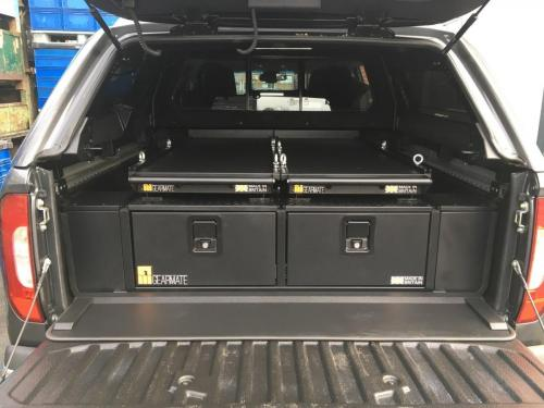 Mercedes X-Class | 300MM Twin Drawers & Infill Pods & Tailgate Gap Flap & 2 Narrow Slides